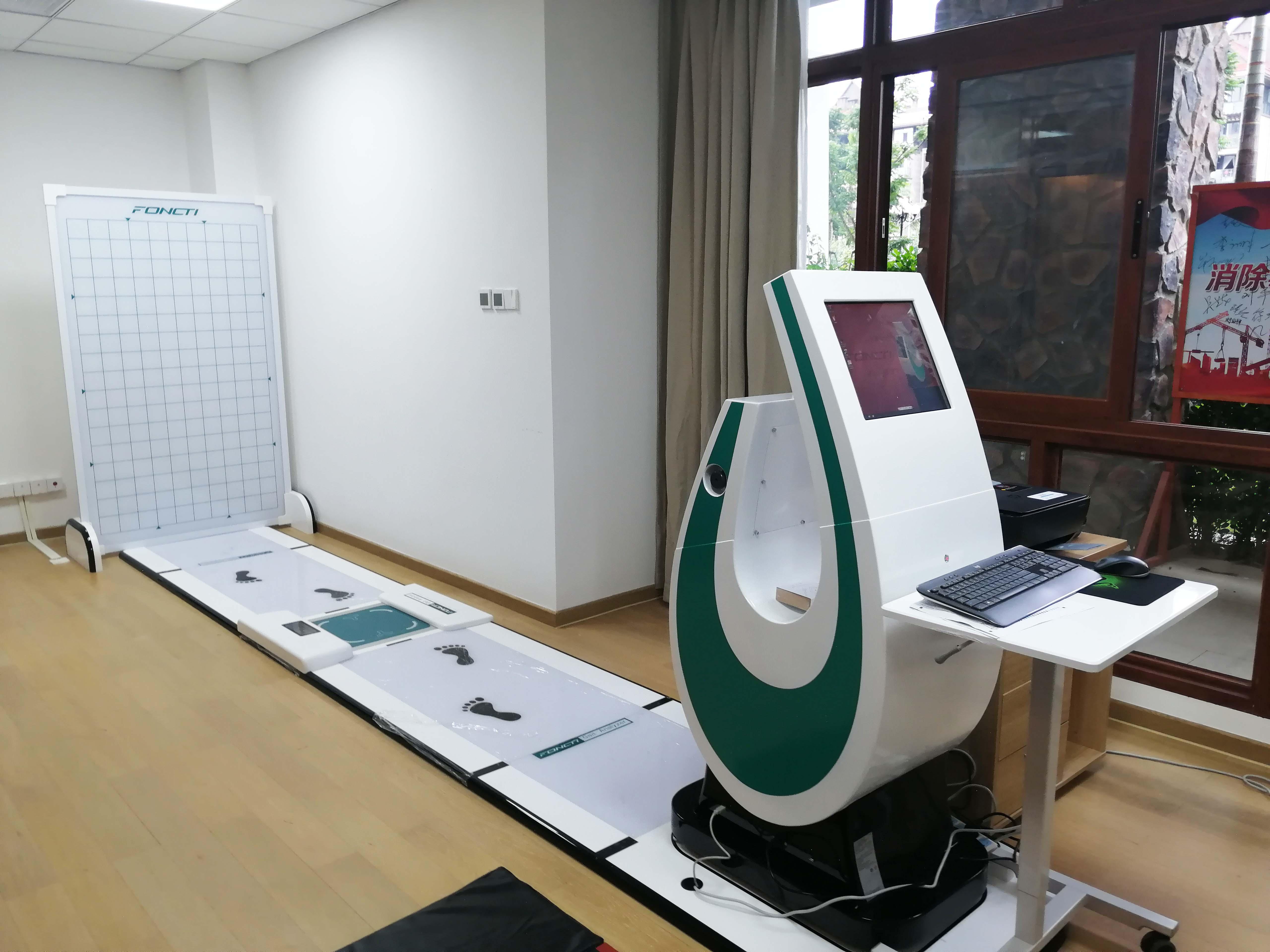 鸿泰盛步态分析系统进驻三亚健康管理中心